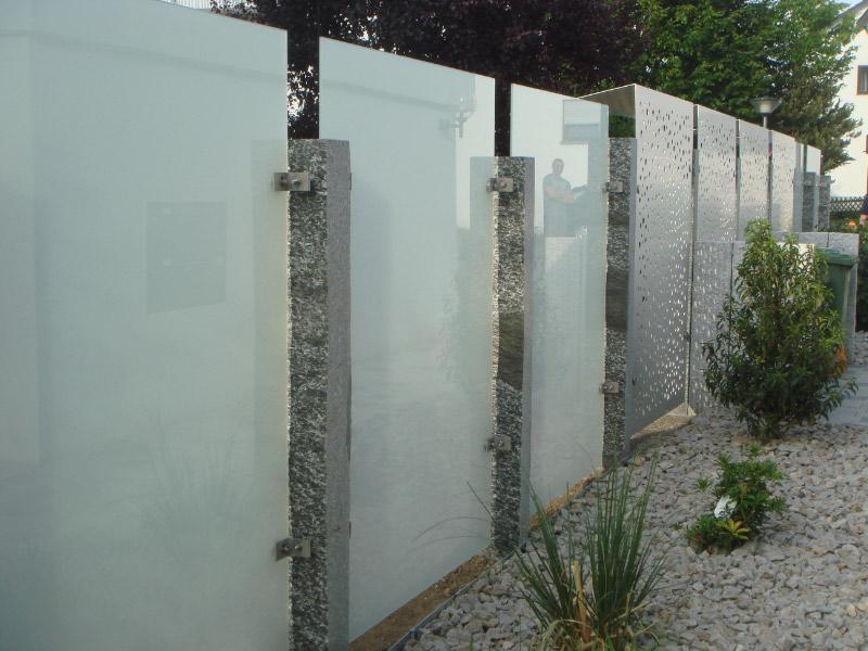 Sichtschutz Garten Glas | My blog